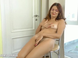 Black shemale tranny masturbating hard