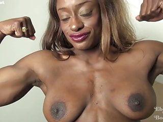 black woman pee naked